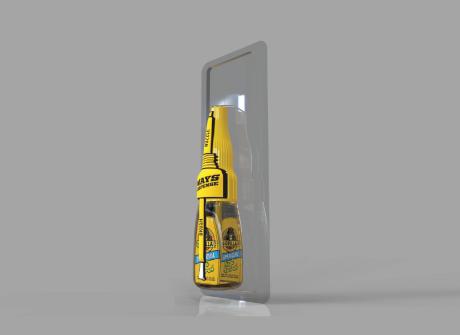 3D Rendering: Gorilla Glue