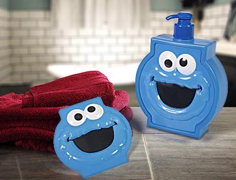 Cookie Monster Soap Dispenser