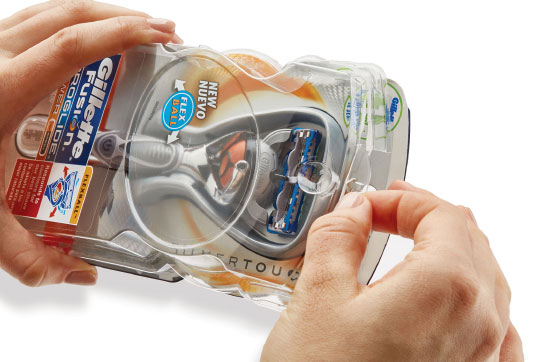 Gillette Packaging